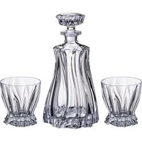 Набор для виски «Plantica»: штоф и 2 стакана M-614583