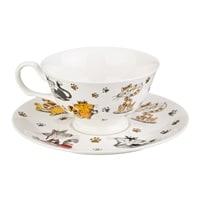 Чайная пара из фарфора «Веселые друзья» M-359233