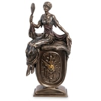 Статуэтка-часы «Девушка с зеркалом» WS-972