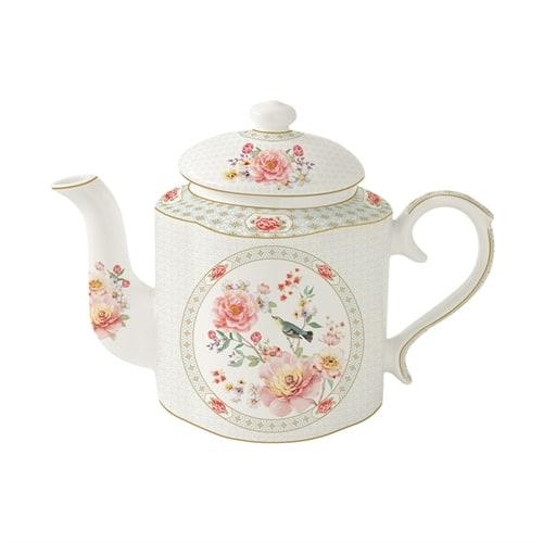Фарфоровый чайник «Райский сад» в подарочной упаковке