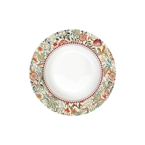 Суповая тарелка из фарфора «Уильям Моррис» (кремовый)