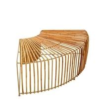 Декоративная скамья «Бамбук» без спинки FINALI-85