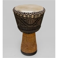 Барабан Джембе резной «Гамби» 55-019