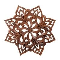 Панно резное «Цветы» 17-070 (суар, о. Бали)