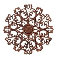 Панно резное «Цветы» 17-071 (суар, о. Бали)