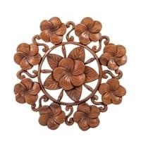 Панно резное «Цветы» A 17-043 (суар, о. Бали)