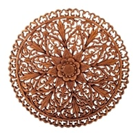 Панно резное «Цветы» 17-052 (суар, о. Бали)