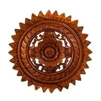 Панно резное «Цветы» 17-048 (суар, о. Бали)