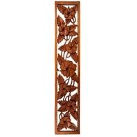 Панно резное «Цветы» 17-050 (суар, о. Бали)