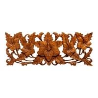 Панно резное «Цветы» 17-045 (суар, о. Бали)