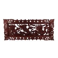 Панно настенное «ДРАКОН» в рамке (красное дерево) В2-0183