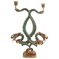 Фигура-подсвечник «Дракон» 24-086 (о. Бали)
