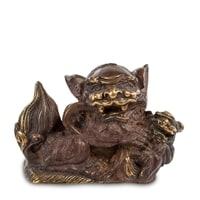 Фигура из бронзы «Лев с шаром» 24-009 (о. Бали)