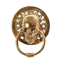 Дверной молоток из бронзы «Череп» 43-104 (о. Бали)