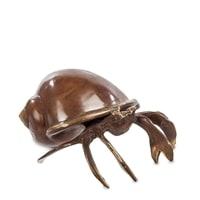 «Краб в ракушке» 43-122 Фигурка (бронза, о. Бали)