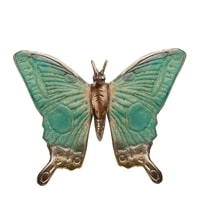 Фигурка из бронзы «Бабочка» 43-139 (о. Бали)
