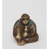 Фигура из бронзы «Горилла» 24-013 (о. Бали)