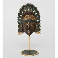 Фигура из бронзы «Маска» 24-043 (о. Бали)