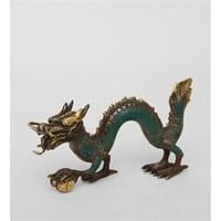 Фигура из бронзы «Дракон» 24-083 (о. Бали)