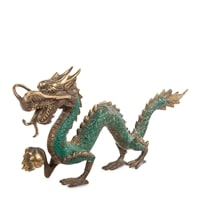 Фигура из бронзы «Дракон» 24-084 (о. Бали)