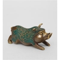 Фигура из бронзы «Поросенок» 24-089 (о. Бали)