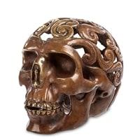 Фигурка из бронзы «Череп» 43-096 (о. Бали)