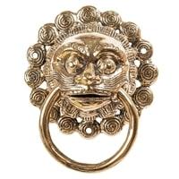 Дверной молоток из бронзы «Баронг» 43-097 (о. Бали)