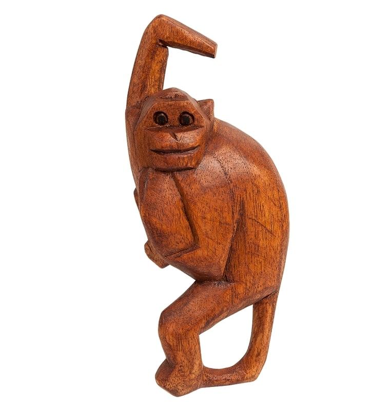 стирка, значительно фигурки обезьяны из дерева стирки термобелье