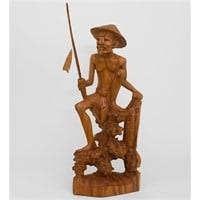 Статуэтка «Рыбак» 17-010 (о. Бали)
