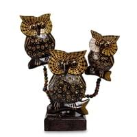 Фигурка «Три совы» 47-011 (о. Бали)