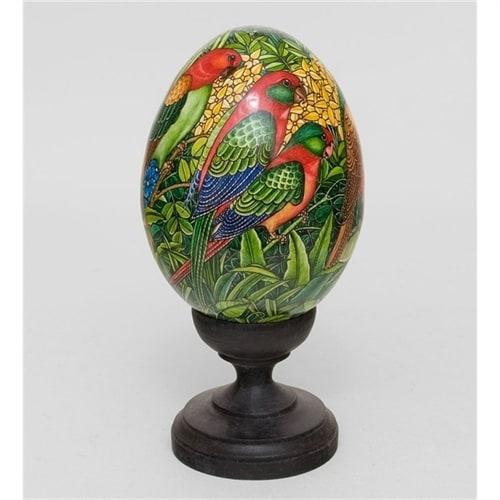 Яйцо расписное (о. Бали) 19-001 B XL