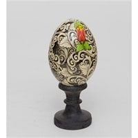 Яйцо расписное 19-002 E (о. Бали)