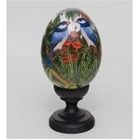 Яйцо расписное (о. Бали) 19-001 C XL