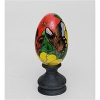 Яйцо расписное 19-002 F (о. Бали)