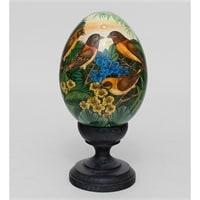 Яйцо расписное (о. Бали) 19-001 A XL