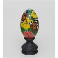 Яйцо расписное 19-002 L (о. Бали)