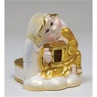 Подсвечник из гипса «Ангел»