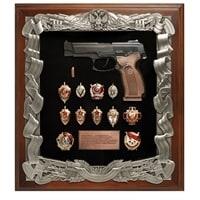 Ключница «Пистолет Ярыгина со знаками ФСБ» ПК-187