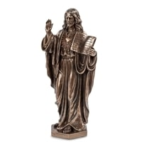 "Статуэтка ""Иисус с Ветхим Заветом"" WS-419"
