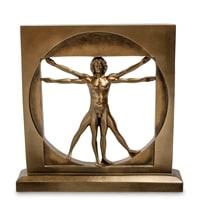 Статуэтка «Витрувианский человек» WS-70/1 (Леонардо да Винчи)
