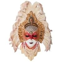 """Венецианская маска """"Перо павлина"""" WS-361"""