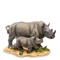 Статуэтка «Носорог с детенышем» WS-771
