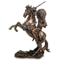 "Статуэтка ""Индеец на коне"" WS-444"
