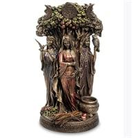 Статуэтка «Триединая Богиня - Дева, Мать и Старуха» WS-897