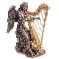 Статуэтка «Ангел, играющий на арфе» WS-691/2