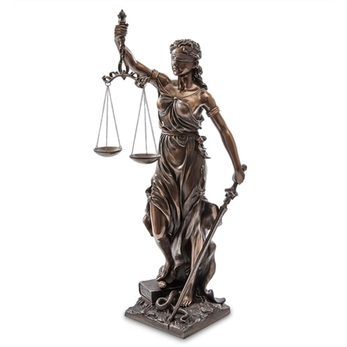 Статуэтка «Фемида - богиня правосудия» WS-653/1