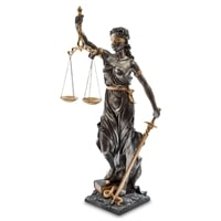 Статуэтка «Фемида - богиня правосудия» WS-653