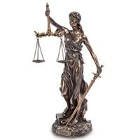 Статуэтка «Фемида - богиня правосудия» WS-650/1