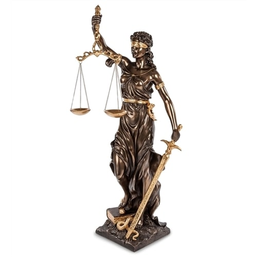 Статуэтка «Фемида - богиня правосудия» WS-653/2