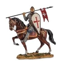 "Статуэтка ""Конный рыцарь крестоносец"" WS-818"